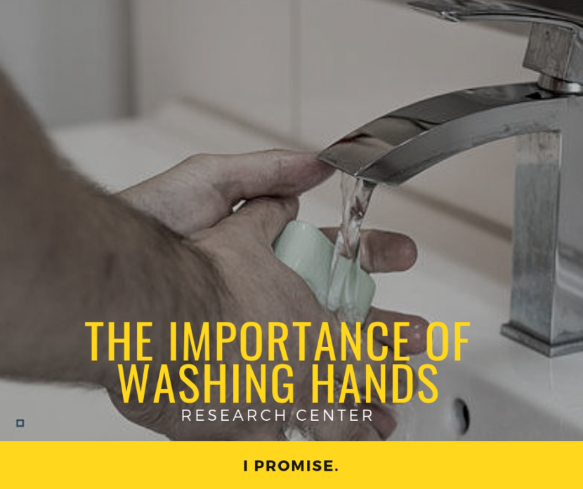 the importance of washing hands